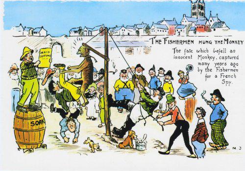 Komic Librería: El mono de Hartlepool