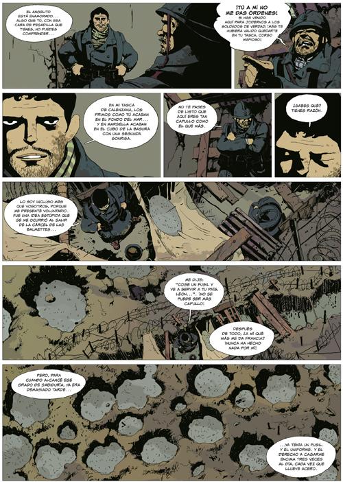Komic Librería: El oro y la sangre