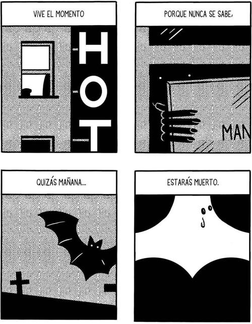 Komic Librería: Permanezcan en sus asientos