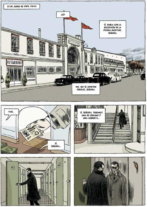 Komic Librería: Piscina Molitor