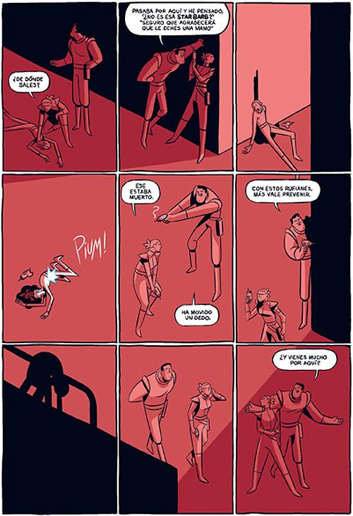 Komic Librería: La Resistencia #01