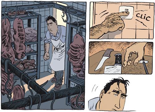 Komic Librería: Revienta, cerdo
