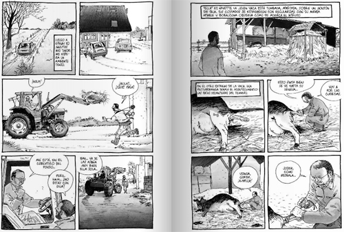 Komic Librería: Rural, crónica de un conflicto