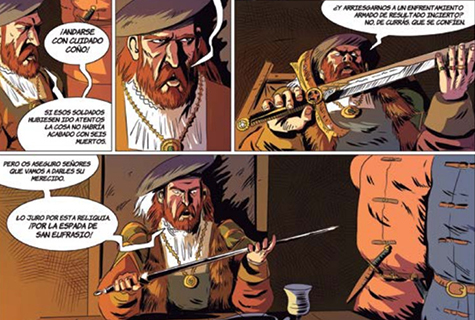 Komic Librería: La espada de San Eufrasio # 3. Un pacto con Satanás