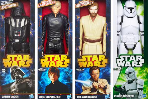 Komic Librería: Figuras articuladas Star Wars Hasbro