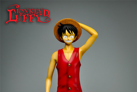 High Dream: Estatua 30 cm Monkey D Luffy de One Piece