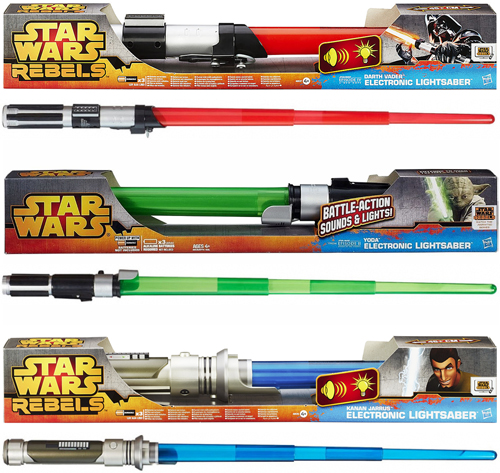 Hasbro Star Wars Rebels Lightsabers
