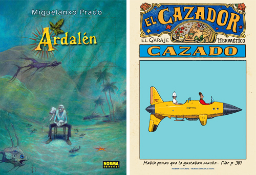Komic Librería: Ardalén + El Cazador Cazado