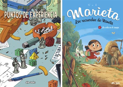 Komic Librería: Puntos de experiencia + Marieta
