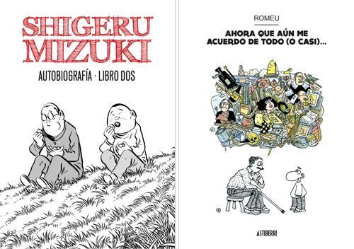 Komic Librería: Shigeru Mizuki Autobiografía 2 + Ahora que aún me acuerdo