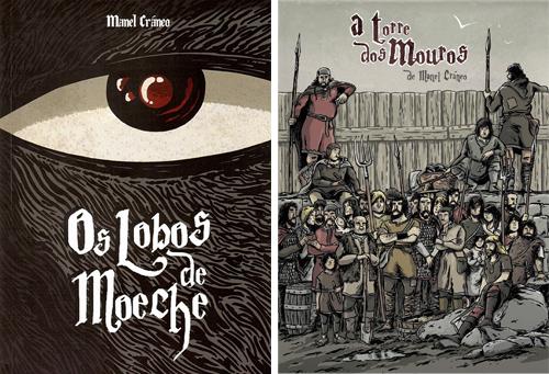 Komic Librería: Os Lobos de Moeche - A Torre dos Mouros