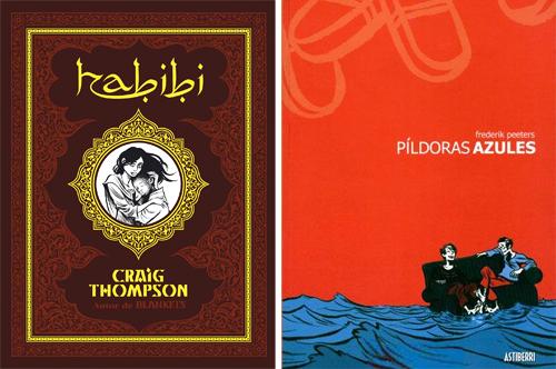 Komic Librería: Habibi + Píldoras azules