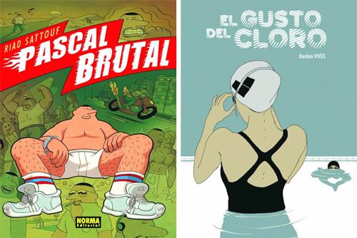 Komic Librería: Pascal Brutal + El gusto del cloro