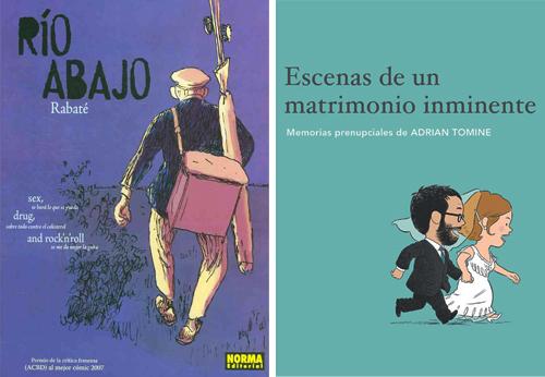 Komic Librería: Río abajo + Escenas de un matrimonio inminente