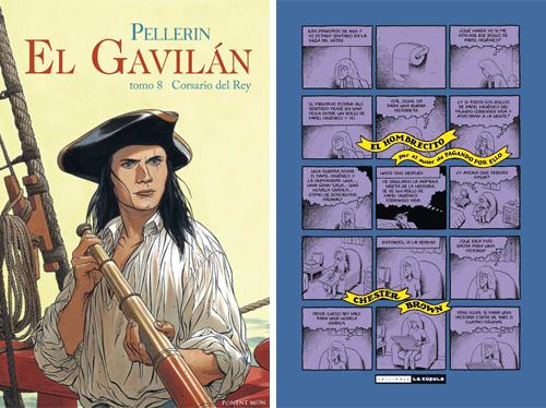 Komic Librería: El Gavilán 8, Corsario del Rey - El Hombrecito