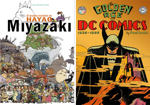 Komic Librería: El mundo invisible de Hayao Miyazaki - The Golden Age of DC Comics