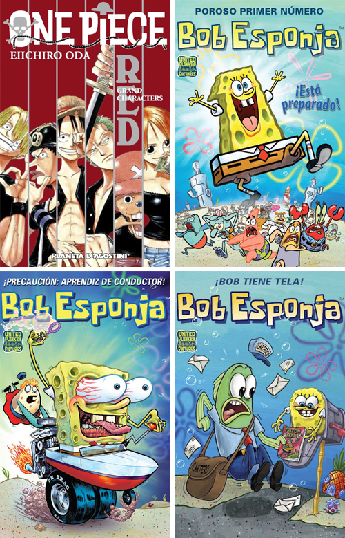 Komic Librería: One Piece Red, Grand Characters - Bob Esponja