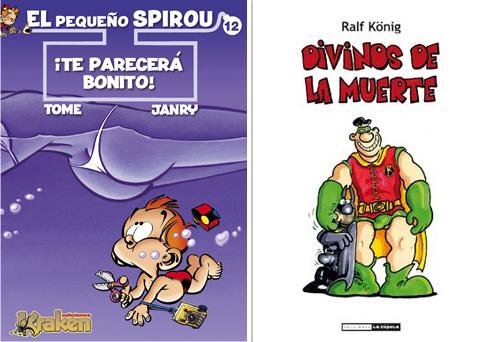Komic Librería: El Pequeño Spirou 12, Te parecerá bonito - Divinos de la muerte