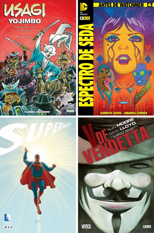 Komic Librería: Traidores de la tierra - Antes de Watchmen - All-Star Superman ECC - V de Vendetta ECC