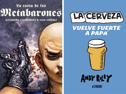 Komic Librería: La casta de los metabarones, La cerveza vuelve fuerte a papá
