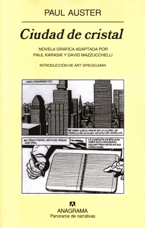 Komic Librería: La ciudad de cristal