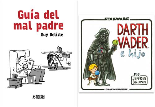 Komic Librería: Guía del mal padre, Darth Vader e hijo