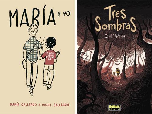 Komic Librería: María y yo, Tres sombras