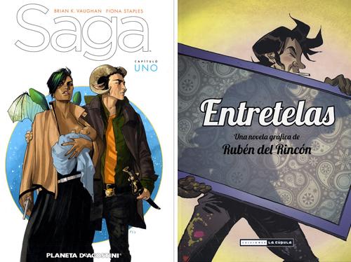 Komic Librería: Saga, Entretelas