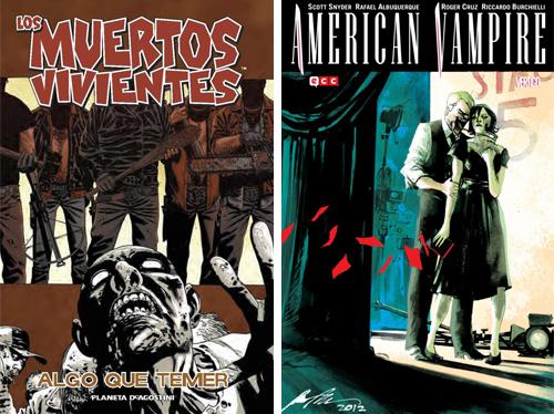 Komic Librería: Los Muertos Vivientes 17, American Vampire 5