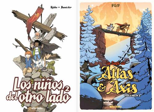 Komic Librería: Los niños del otro lado 2, La saga de Atlas & Axis 2