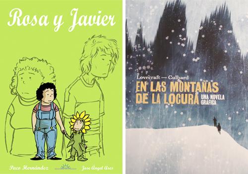Komic Librería: Rosa y Javier, En las montañas de la locura