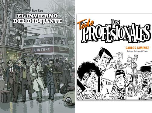 Komic Librería: El invierno del dibujante - Los profesionales
