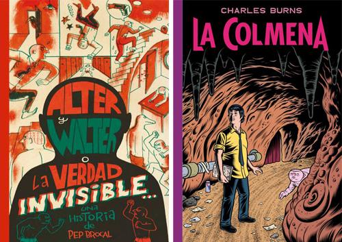 Komic Librería: Alter y Walter o La Verdad Invisible - La colmena