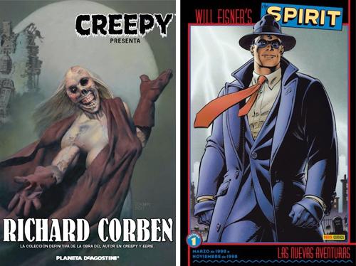 Komic Librería: Creepy presenta Richard Corben - Spirit, las nuevas aventuras