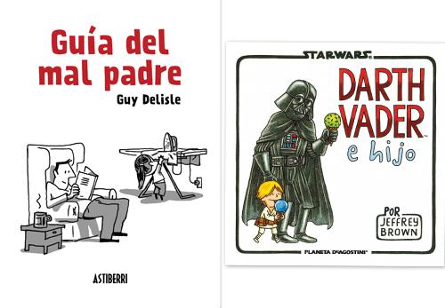 Komic Librería: Guía del mal padre - Darth Vader e Hijo