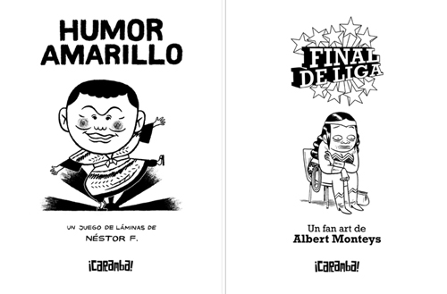 Komic Librería: Humor amarillo - Final de Liga