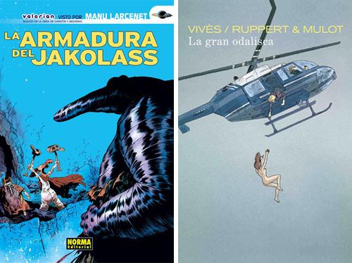 Komic Librería: La armadura de Jakolass - La gran odalisca