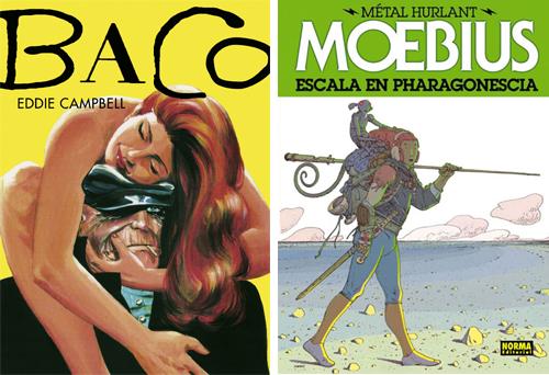 Komic Librería: Baco - Metal Hurlant 4, Escala en Pharagonescia