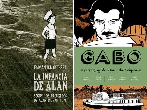 Komic Librería: La infancia de Alan - Gabo
