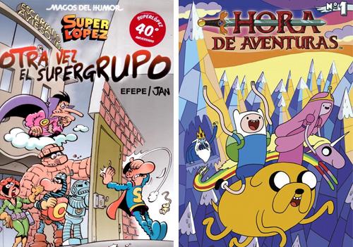 Komic Librería: Otra vez el Supergrupo - Hora de aventuras