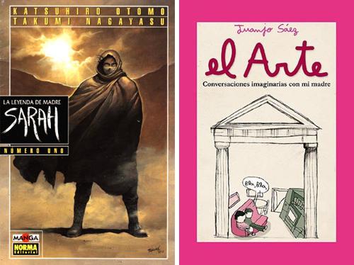 Komic Librería: La leyenda de Madre Sarah - El arte