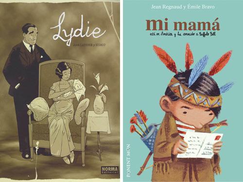 Komic Librería: Lydie - Mi mamá está en América