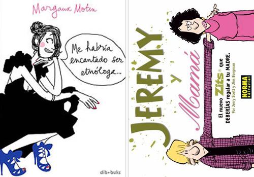 Komic Librería: Me hubiera encantado ser etnóloga - Jeremy y mamá