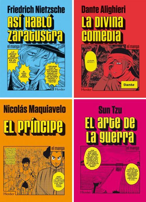 Komic Librería: Manga filosóficos editados por Herder