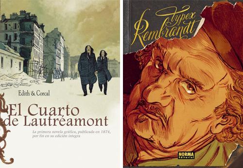 Komic Librería: El cuarto de Lautréamont, Rembrandt