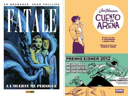 Komic Librería: Fatale, Cuento de arena