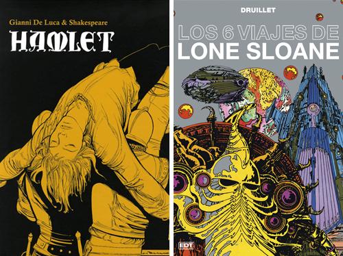 Komic Librería: Hamlet, Los 6 viajes de Lone Sloane