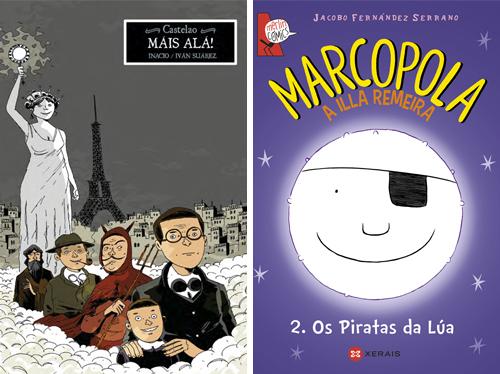 Komic Librería: Castelao. Máis alá!, Marcopola 2. Os piratas da lúa