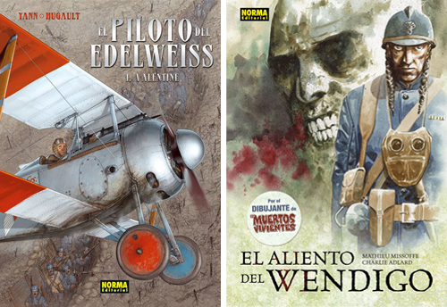 Komic Librería: El piloto del Edelweiss, El aliento del Wendigo