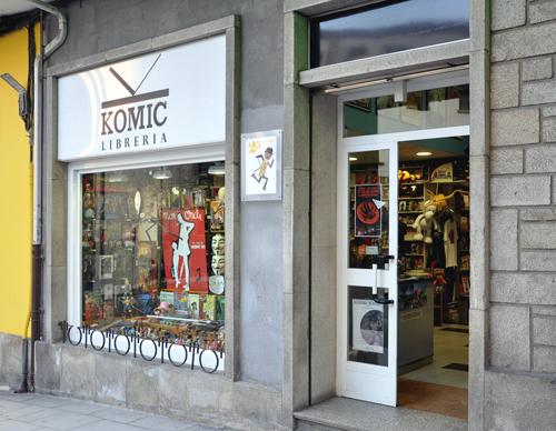 Komic Librería, unha tenda con historia para Hobby Consolas